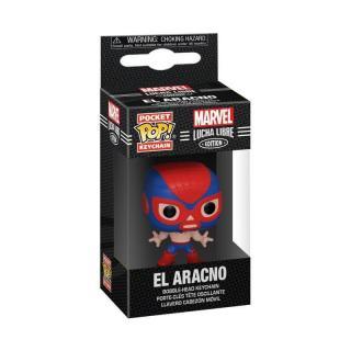 Funko POP Keychain: Marvel Luchadores - Spider-Man  [HRAČKA]